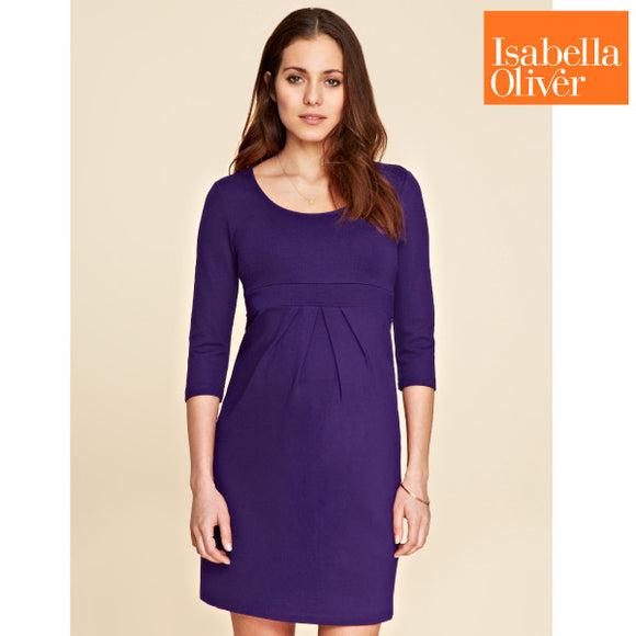 Isabella Oliver Lizzie Dress-Ink