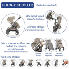 Load image into Gallery viewer, Inglesina รถเข็นเด็กเเรกเกิด-5ปี Inglesina Trilogy Stroller from Italy-JF Navy