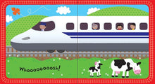 Load image into Gallery viewer, Usborne books-Baby's very first noisy book: Trains10m+หนังสือBaby's very first noisy book: Trainsสำหรับเด็ก 10 เดือนขึ้นไป