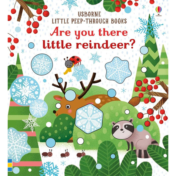 Usborne Are you there little reindeer  6M+ หนังสือ Are you there little reindeer สำหรับเด็ก 6 เดือนขึ้นไป