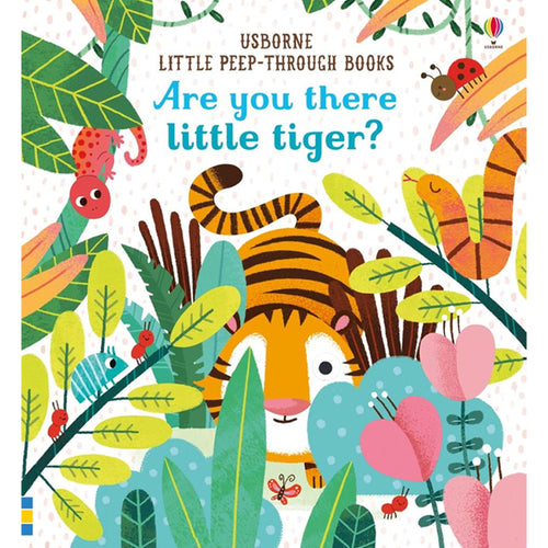 Usborne Are you there little tiger  6M+ หนังสือ Are you there little tiger  สำหรับเด็ก 6 เดือนขึ้นไป