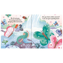 Load image into Gallery viewer, Usborne Are you there little unicorn 6M+ หนังสือ Are you there little unicorn สำหรับเด็ก 6 เดือนขึ้นไป