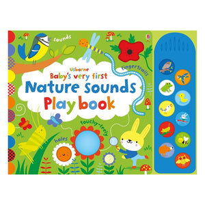 Usborne books Baby's very first nature sounds playbook 10 months+ หนังสือ Baby's very first nature sounds playbook   สำหรับเด็ก 10 เดือนขึ้นไป