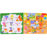 Usborne books Baby's very first playbook body words 0+ หนังสือ Baby's very first playbook body words สำหรับเด็กเเรกเกิดขึ้นไป