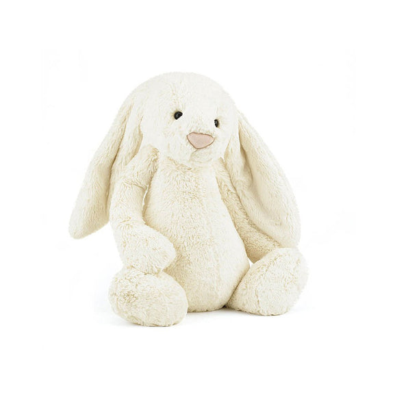 Jelly Cat  Bashful Cream Bunny Large 36 cm  - Jelly Cat ตุ๊กตา กระต่ายน้อย Bashful Cream Bunny ขนาด  36 cm.