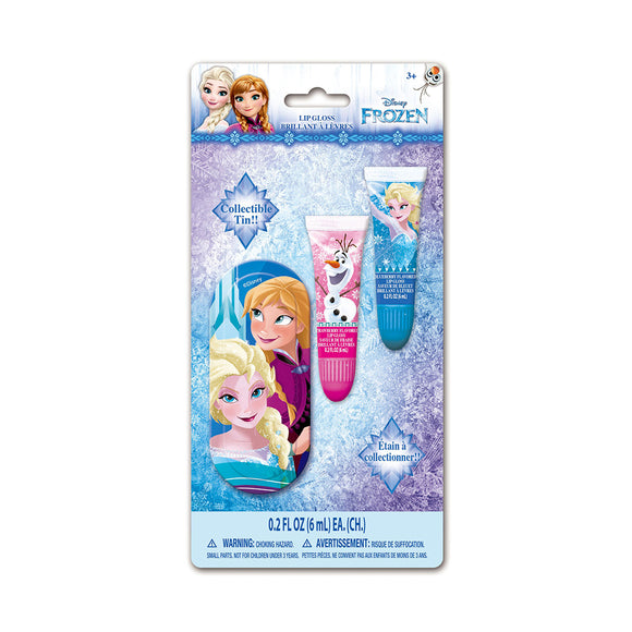 Kindee  Disney Frozen Lip Gloss Set+Box