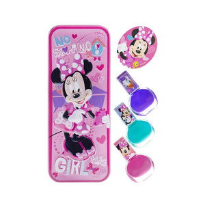 Kindee  Disney Junior Minnie Nail Polish Set+Box