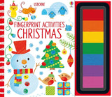 Usborne books Fingerprint activities Christmas  3Y+หนังสือ Fingerprint activities Christmas สำหรับเด็ก 3 ปี ขึ้นไป