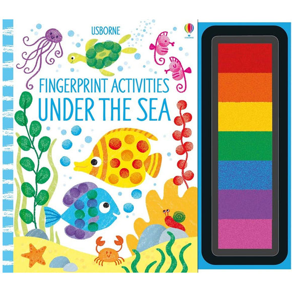 Usborne books Fingerprint activities: Under the sea  6Y+หนังสือ Fingerprint activities: Under the sea สำหรับเด็ก 6 ปี ขึ้นไป