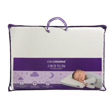 Load image into Gallery viewer, Clevamama  ClevaFoam Junior Pillow - หมอน สำหรับเด็กโต  อายุ 3 ปี+