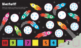 Usborne books Lift-the-flap numbers 3Y+  หนังสือภาพ  Lift-the-flap numbers  สำหรับเด็ก 3 ปีขึ้นไป