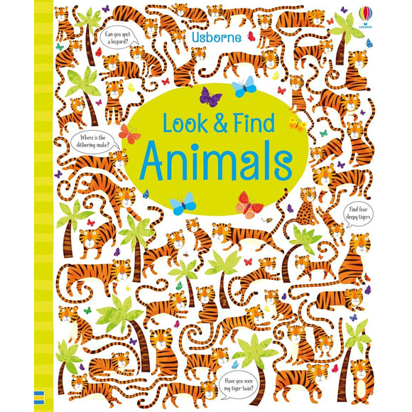 Usborne books  Look and find animals  5Y+  หนังสือ Look and find animals เหมาะสำหรับ 5 ปีขึ้นไป