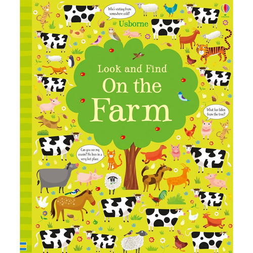 Usborne books  Look and find on the farm 5Y+  หนังสือ Look and find on the farm เหมาะสำหรับ 5 ปีขึ้นไป