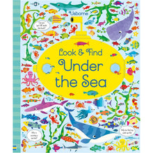Load image into Gallery viewer, Usborne books  Look and find under the sea  5Y+  หนังสือ Look and find under the sea เหมาะสำหรับ 5 ปีขึ้นไป