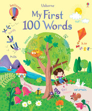 Load image into Gallery viewer, Usborne books My first 100 words  3Y+ หนังสือ My first 100 words  สำหรับ 3 ปีขึ้นไป