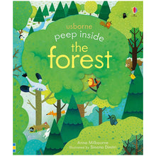 Load image into Gallery viewer, Usborne  Peep inside the forest  3Y+ หนังสือ  Peep inside the forest สำหรับ 3ปีขึ้นไป