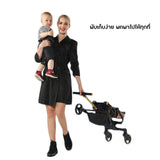 Dojo  Playkids Snap  Pro Travel stroller Phantom Black รถเข็นเด็กพกพา
