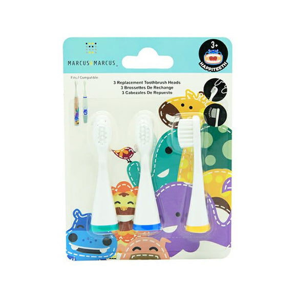 Marcus & Marcus  Replacement Toothbrush Heads หัวเปลี่ยนแปรงสีฟันไฟฟ้า