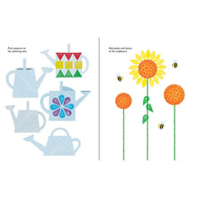Load image into Gallery viewer, Usborne books Rubber stamp activities garden  6Y+หนังสือ Rubber stamp activities garden สำหรับเด็ก 6 ปี ขึ้นไป