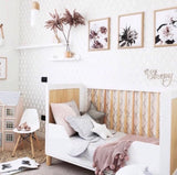 Bambigarden selection Taylor Cot/Bed-White เตียงไม้รุ่น Taylor สีขาว/ไม้