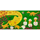 Usborne Baby's very first Slide and see dinosaurs หนังสือ Baby's very first Slide and see dinosaurs  จาก Usborne สำหรับเด็ก แรกเกิดขึ้นไป