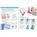 Usborne books Sticker Dolly Dressing Design Studio: Party Clothes 7Y+ หนังสือ Sticker Dolly Dressing Design Studio: Party Clothes   สำหรับ 7 ปีขึ้นไป