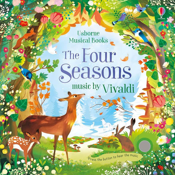Usborne The Four Seasons with music by Vivaldi  3Y+ หนังสือ The Four Seasons with music by Vivaldi สำหรับเด็ก 3 ปีขึ้นไป