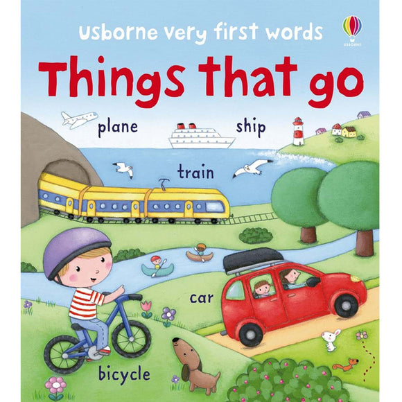 Usborne books  Very first words  Things that go  2Y+หนังสือThings that go สำหรับเด็ก 2 ปี ขึ้นไป
