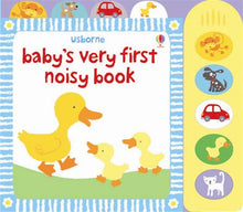 Load image into Gallery viewer, Usborne books-Baby's very first noisy book 10m+หนังสือBaby's very first noisy bookสำหรับเด็ก 10 เดือนขึ้นไป