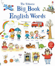 Load image into Gallery viewer, Usborne books Big book of English words4Y+ หนังสือ Big book of English wordsสำหรับเด็ก 4 ปี ขึ้นไป