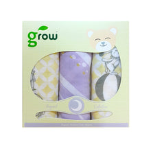 Load image into Gallery viewer, Grow-bamboo muslin cloth diapers-Fantasy Circus Stream โกรว ผ้าอ้อมจากใยไผ่ 100% ลายFantasy Circus Stream
