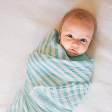 Load image into Gallery viewer, Green Sprouts Muslin Swaddle Blanket ผ้าห่อตัวมัสลินออร์เเกนิคค้อตต้อน