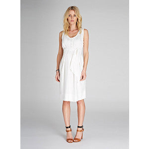 Isabella Oliver Una Summer Dress-Off white