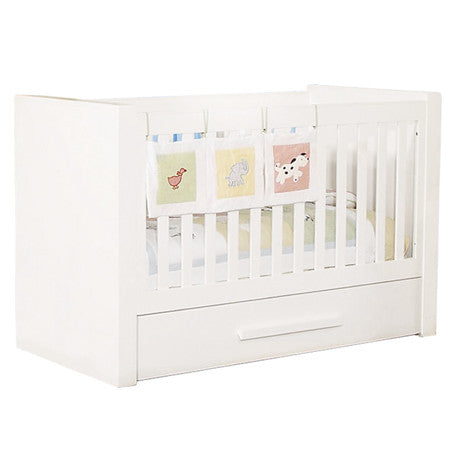 Bambigarden selection Impression Convertible Cot/Bed-White