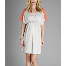 Load image into Gallery viewer, Isabella Oliver Ella Knit Dress-Coral/Silver Melange