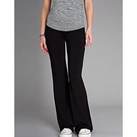 Isabella Oliver Smooth Line Trousers-Caviar Black