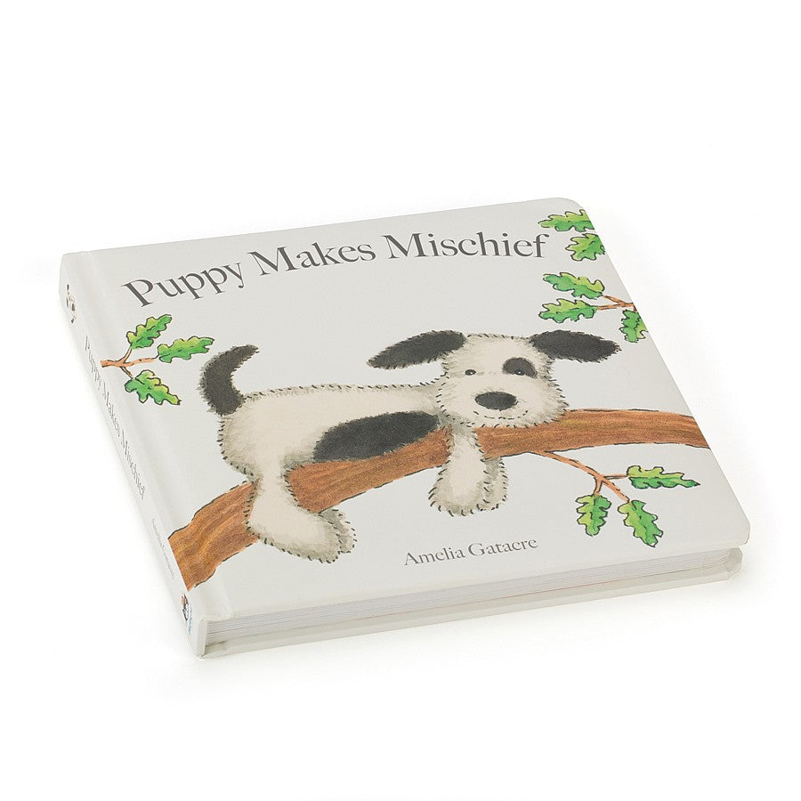 Jelly Cat Puppy Makes Mischief Book- Jelly Cat หนังสือนิทานกล่อมนอนPuppy Makes Mischief Book