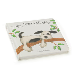 Jelly Cat Puppy Makes Mischief Book (18011)- Jelly Cat หนังสือนิทานกล่อมนอนPuppy Makes Mischief Book