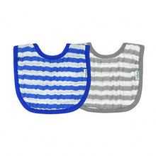 Load image into Gallery viewer, Green Sprouts Muslin Bibs Made From Organic Cotton (2 Pack)  ผ้ากันเปื้อน