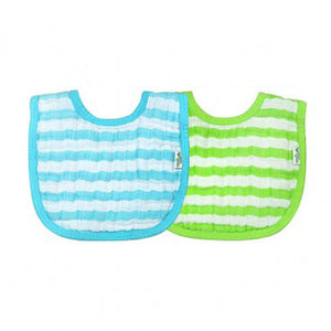 Green Sprouts Muslin Bibs Made From Organic Cotton (2 Pack)  ผ้ากันเปื้อน