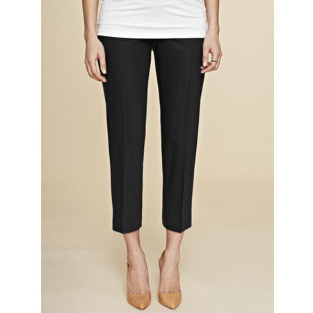 Isabella Oliver Wardour Tailored Pant-Caviar Black