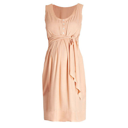 Isabella Oliver Una Summer Dress-Peach