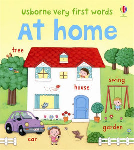 Usborne books Very first words At home 2Y+หนังสือคำเเรก Very first words At home จากUsborne สำหรับเด็ก 2 ปี ขึ้นไป