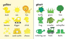 Load image into Gallery viewer, Usborne books Very first words colours 2Y+หนังสือ Very first words colours จากUsborne สำหรับเด็ก 2 ปี ขึ้นไป