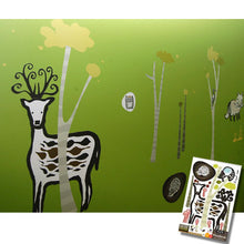 Load image into Gallery viewer, None Toxic Re-positionable Wall Stickers-Woodland (Clearance Sale)