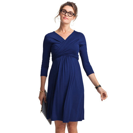Isabella Oliver Emily Dress-French Navy