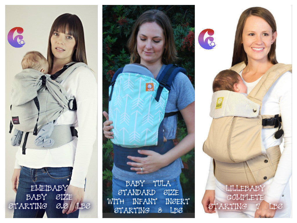 CEO'S RECOMMENDED ERGONOMIC CARRIERS FOR NEWBORNS