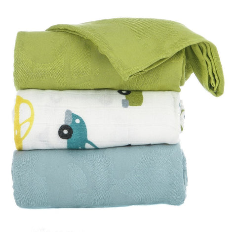 TULA BLANKET SET (3 PCS) - BEEP BEEP