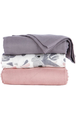TULA BLANKET SET (3 PCS) - CARRY ME