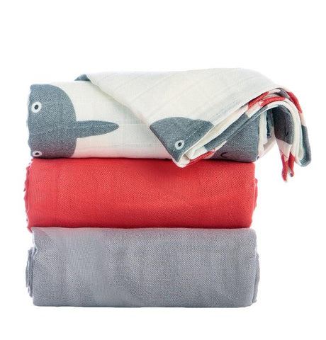 TULA BLANKET SET (3 PCS) - CHOMP